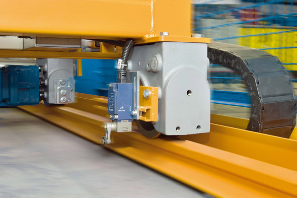 Hjulblocksystem LRS i arbete