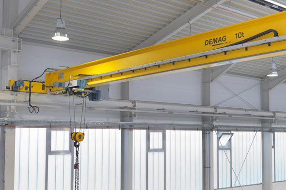 Traverskran Dematek upp till 12.5 ton