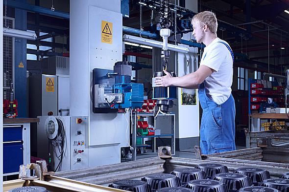 E-Balancers drivteknik i arbete