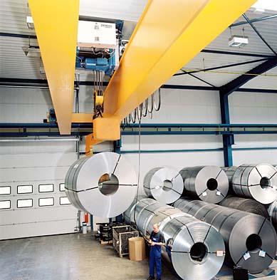 Skräddarsydda komponenter för utrustning av krananläggningar