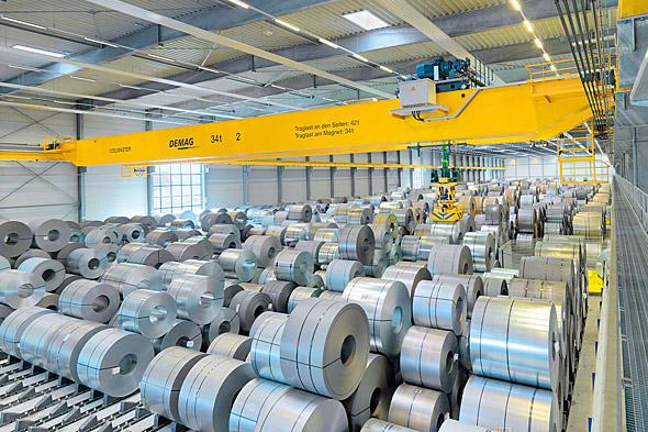 Processkranar för stålhantering