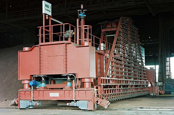 Motoraggregat FG i en flygande såg i träbearbetningsindustrin
