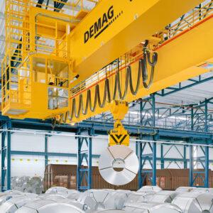 Processkran för stålhantering