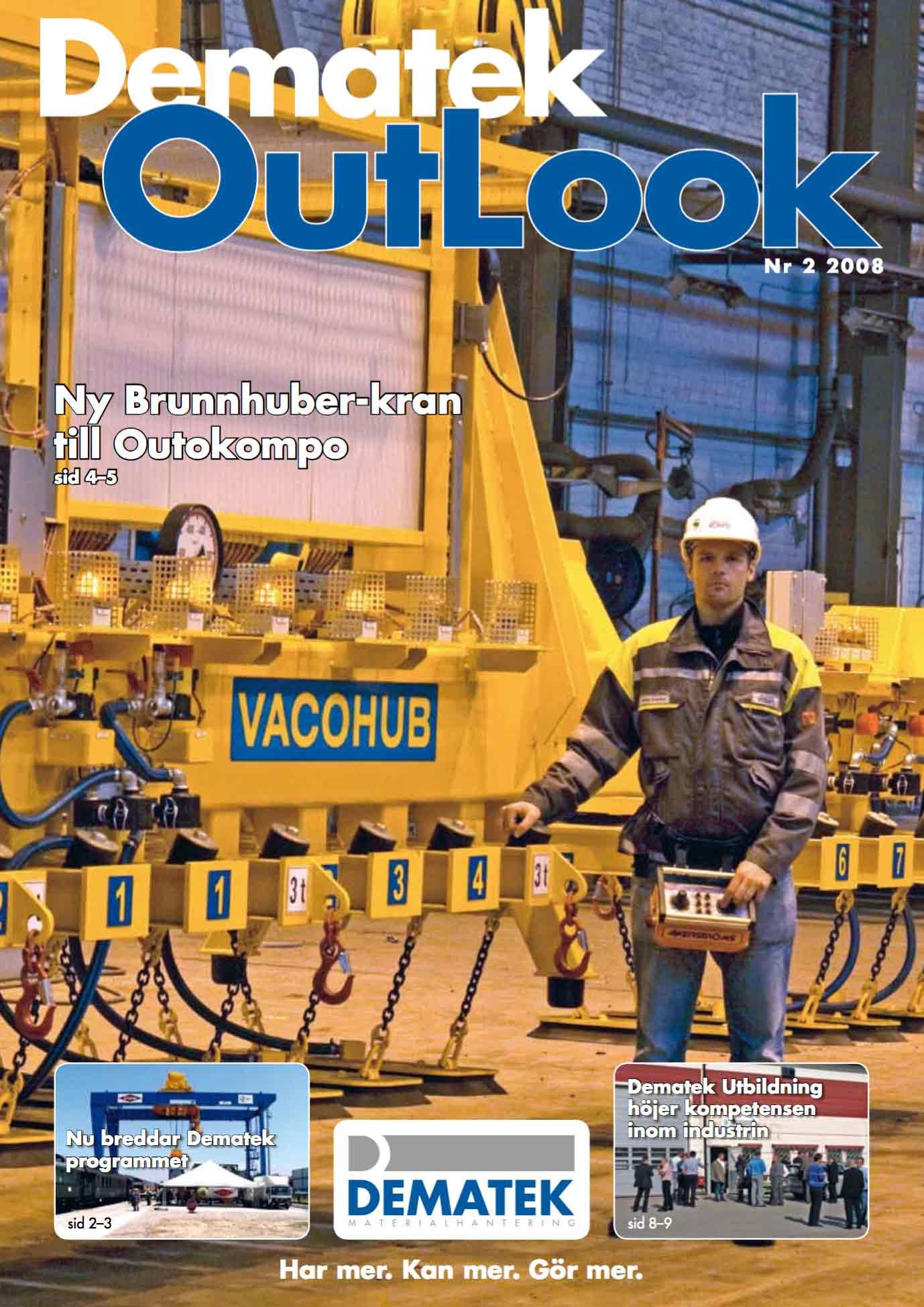 Dematek OutLook nr 2, 2008