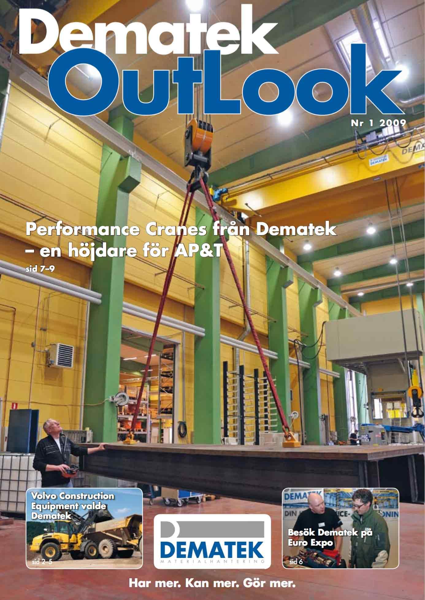 Dematek OutLook nr 1, 2009