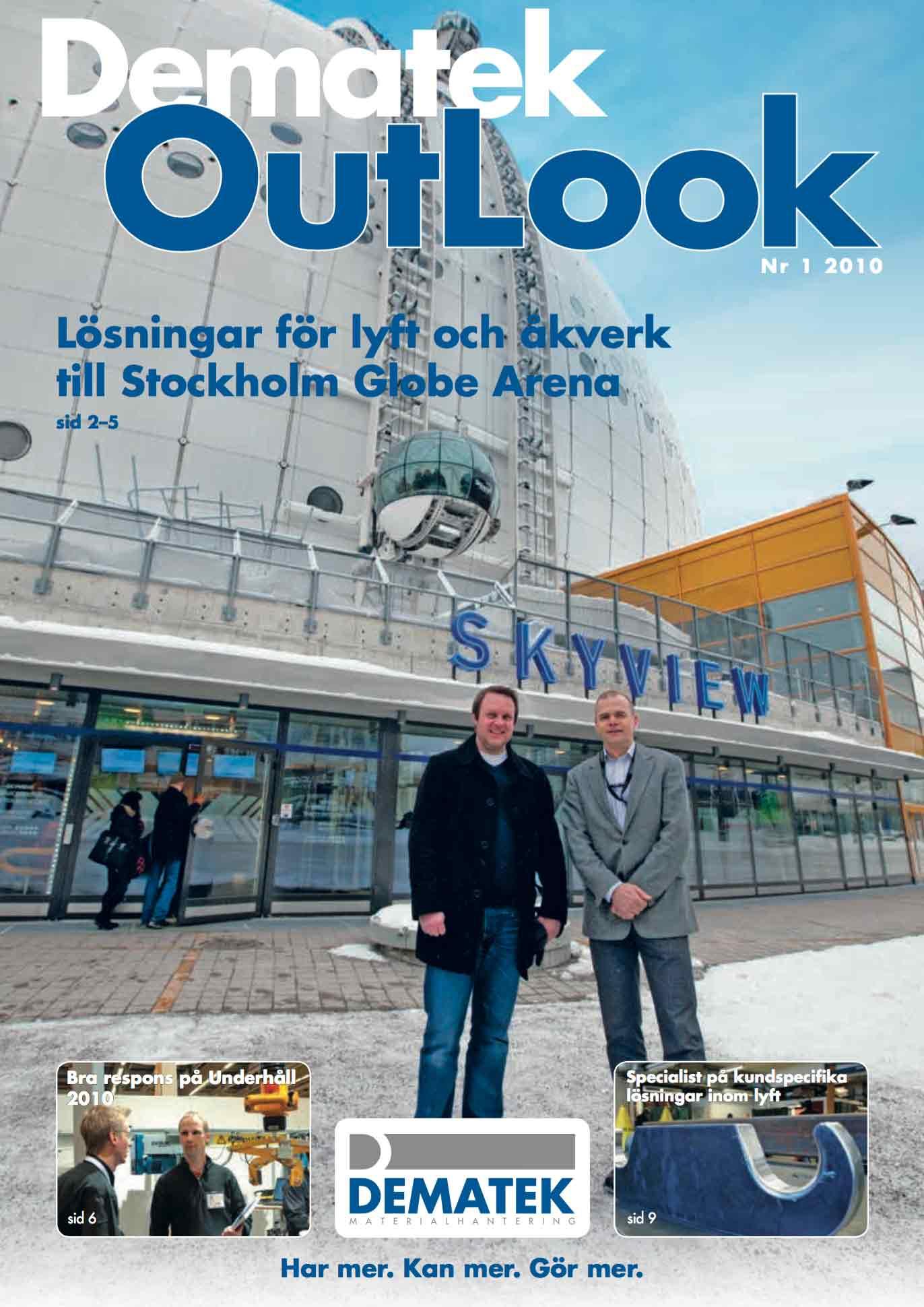 Dematek OutLook nr 1, 2010