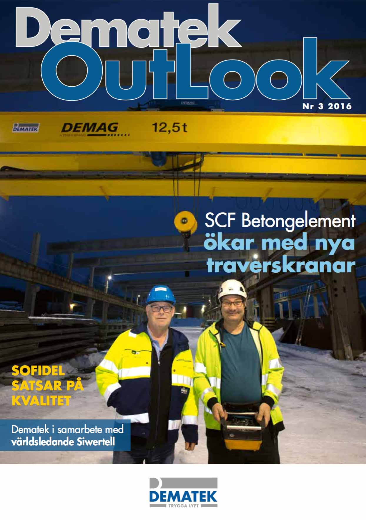 Dematek OutLook nr 3, 2016