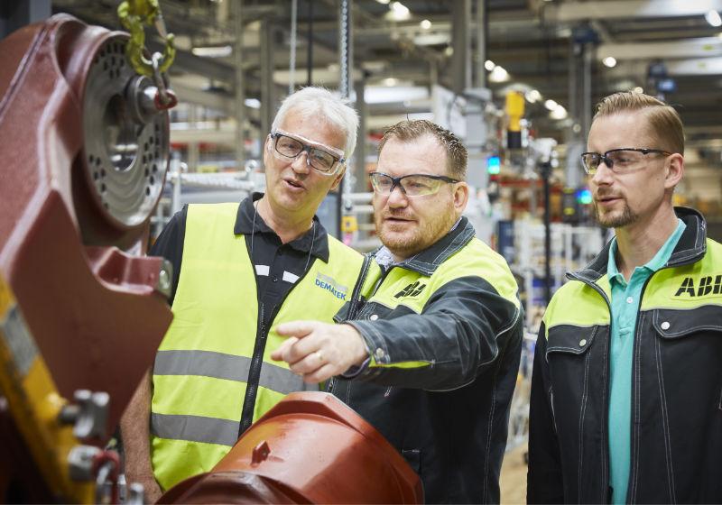 ABB:s robotenhet i Västerås
