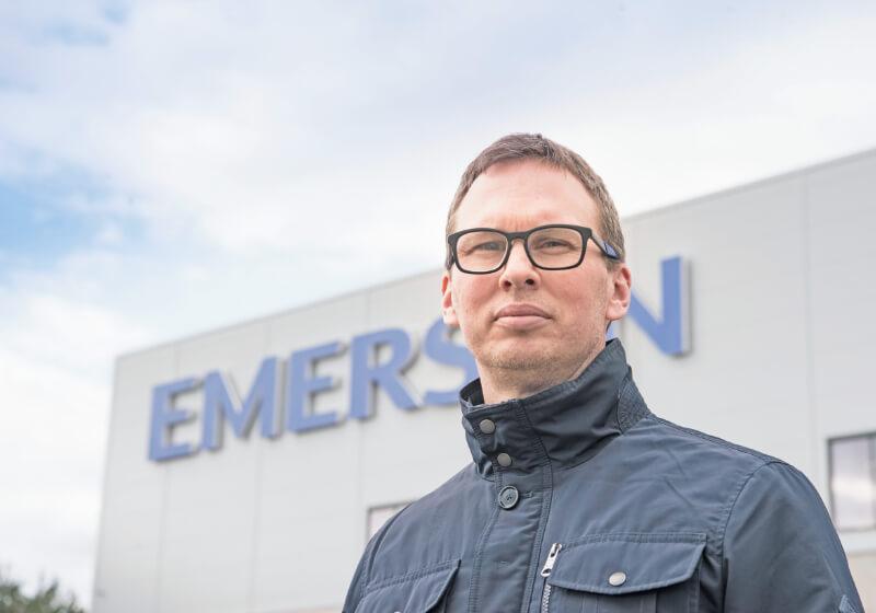 Karl Nyström, Rosemount Emerson