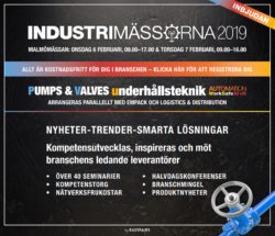 Inbjudan till Industrimässorna 2019